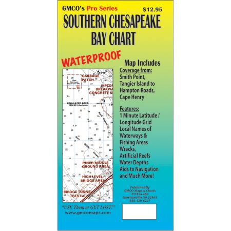 Southern Chesapeake Bay  GMCO Maps