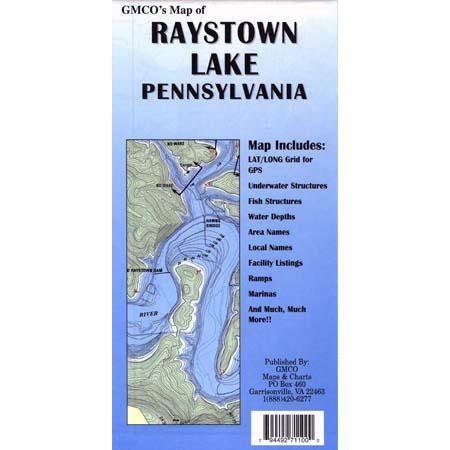 Raystown Lake Map Raystown Lake – GMCO Maps